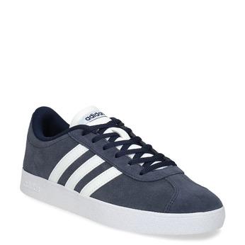 Granatowe nieformalne trampki dziecięce adidas, niebieski, 403-9361 - 13