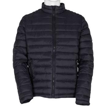 Granatowa pikowana kurtka męska bata, niebieski, 979-9369 - 13