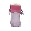 Skórzane botki dziecięce zfuterkiem mini-b, fioletowy, 296-9601 - 15