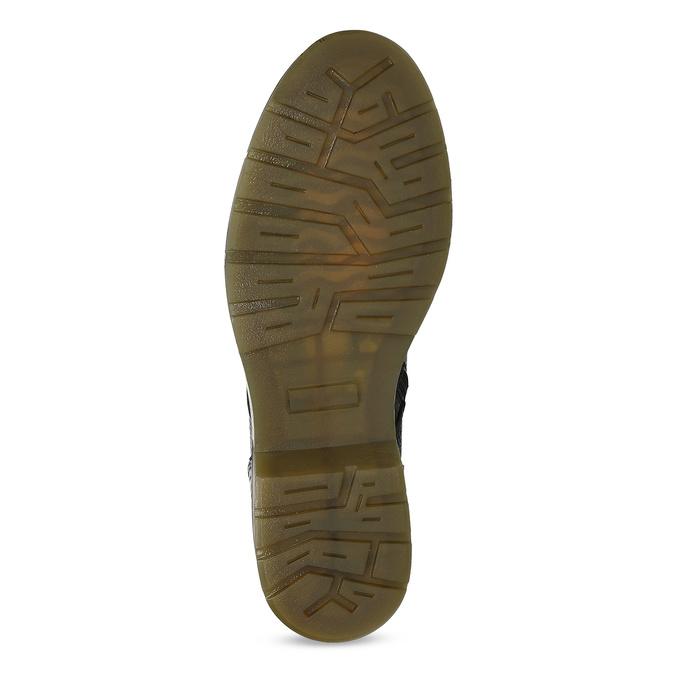 Czarne skórzane obuwie damskie typu chelsea bata, czarny, 596-6732 - 18