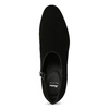 Skórzane botki damskie zćwiekami bata, czarny, 723-6661 - 17