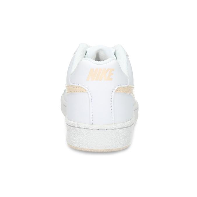 Białe nieformalne trampki damskie nike, biały, 501-1125 - 15