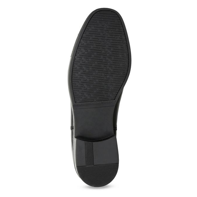 Skórzane obuwie damskie typu chelsea zkryształkami bata, czarny, 594-6682 - 18