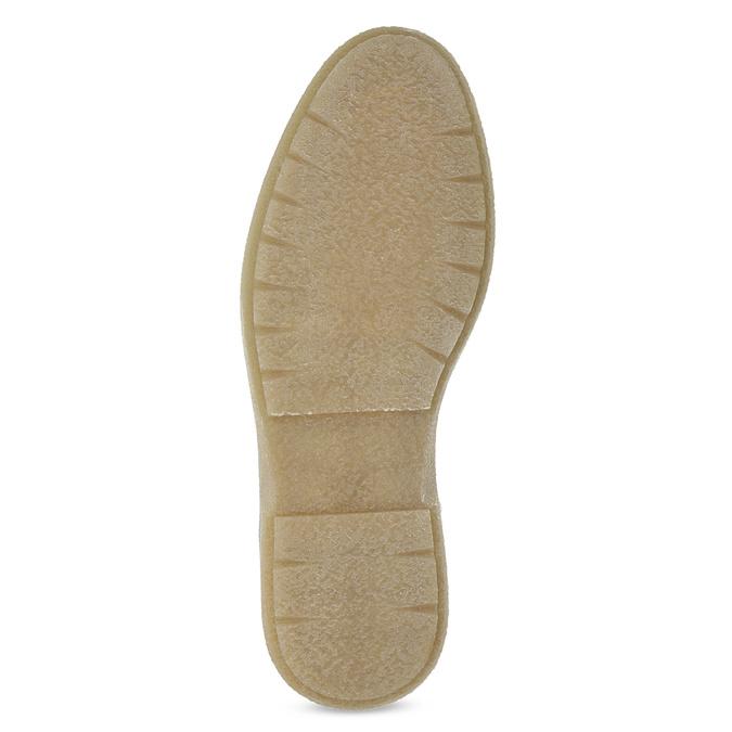 Zielone skórzane obuwie męskie za kostkę bata, zielony, 896-7669 - 18