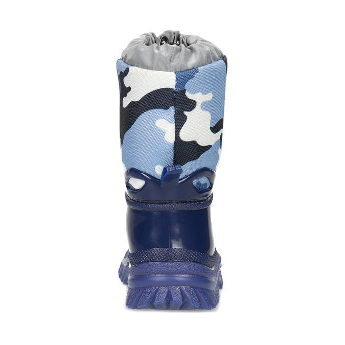 Granatowe śniegowce wdeseń moro mini-b, niebieski, 292-9301 - 15