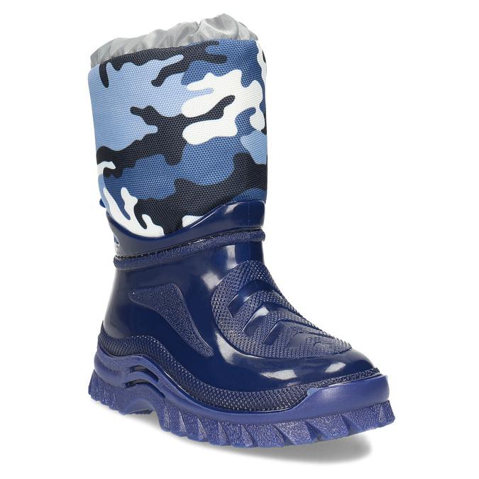 Granatowe śniegowce wdeseń moro mini-b, niebieski, 292-9301 - 13