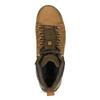 Brązowe skórzane obuwie męskie za kostkę caterpillar, brązowy, 806-3107 - 17
