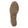 Brązowe skórzane trzewiki damskie weinbrenner, brązowy, 696-3668 - 18