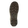 Brązowe skórzane obuwie męskie za kostkę caterpillar, brązowy, 806-3107 - 18