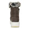 Brązowe skórzane śniegowce damskie weinbrenner, brązowy, 593-4603 - 15