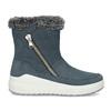 Niebieskie skórzane śniegowce damskie weinbrenner, niebieski, 593-9603 - 19