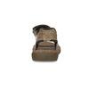 Czarno-granatowe skórzane sandały męskie weinbrenner, brązowy, 866-4643 - 15