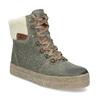 Zimowe skórzane obuwie damskie weinbrenner, zielony, 596-7750 - 13