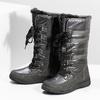 Damskie śniegowce na zimę bata, szary, 599-2619 - 16