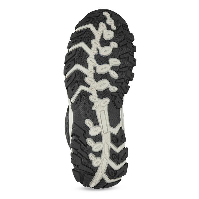 Pikowane zimowe śniegowce damskie bata, czarny, 599-6623 - 18