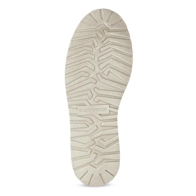 Zamszowe obuwie męskie za kostkę weinbrenner, szary, 896-2735 - 18