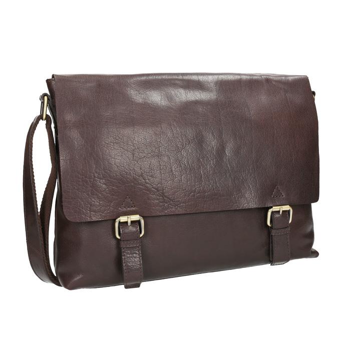 Skórzana torba męska bata, brązowy, 964-4235 - 13