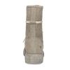 Wysokie skórzane trzewiki damskie wkolorze beżowym weinbrenner, beżowy, 596-8746 - 15