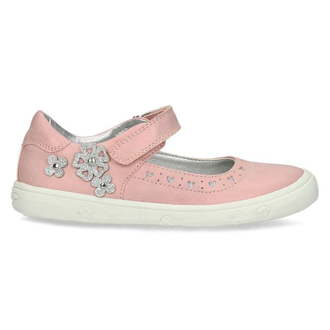 Różowe baleriny dziewczęce mini-b, różowy, 221-5216 - 19