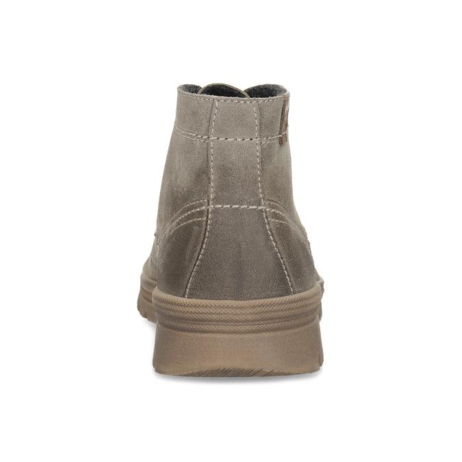 Zimowe obuwie męskie weinbrenner, beżowy, 896-8107 - 15