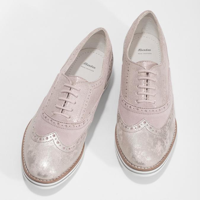 5465620 bata, różowy, 546-5620 - 16
