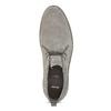 Szare skórzane obuwie męskie typu desert boots bata, szary, 823-8655 - 17