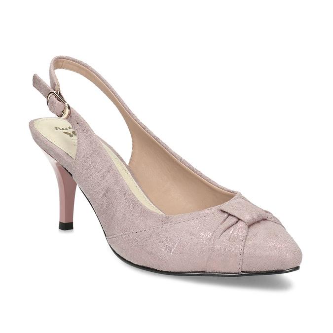 6295655 bata, różowy, 629-5655 - 13
