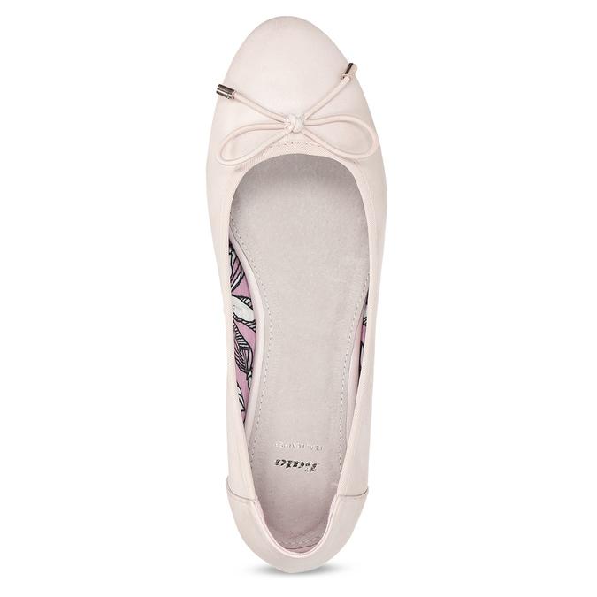 5218650 bata, różowy, 521-8650 - 17