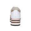 Różowe trampki damskie na platformach bata, multi color, 549-0604 - 15