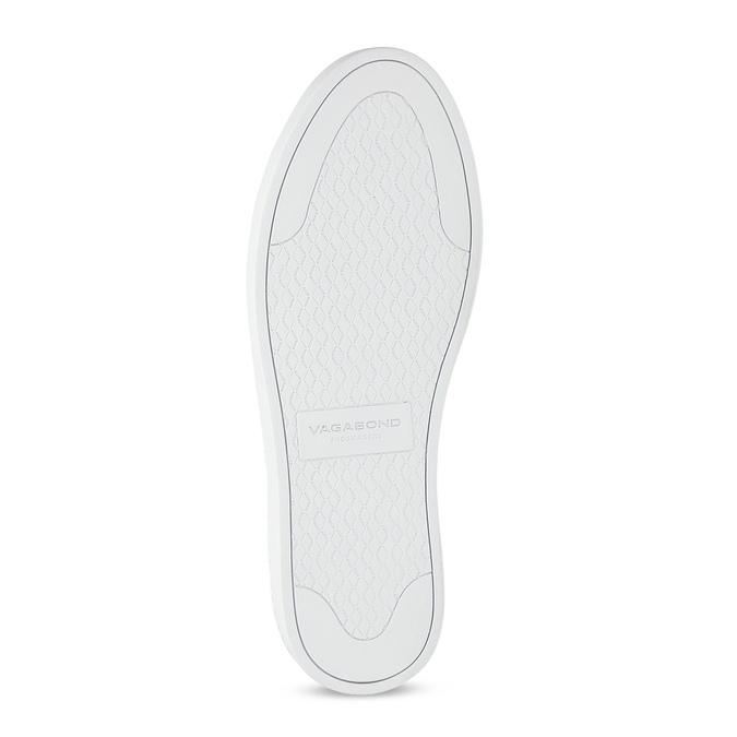 Czarne skórzane buty sportowe vagabond, czarny, 624-6014 - 18