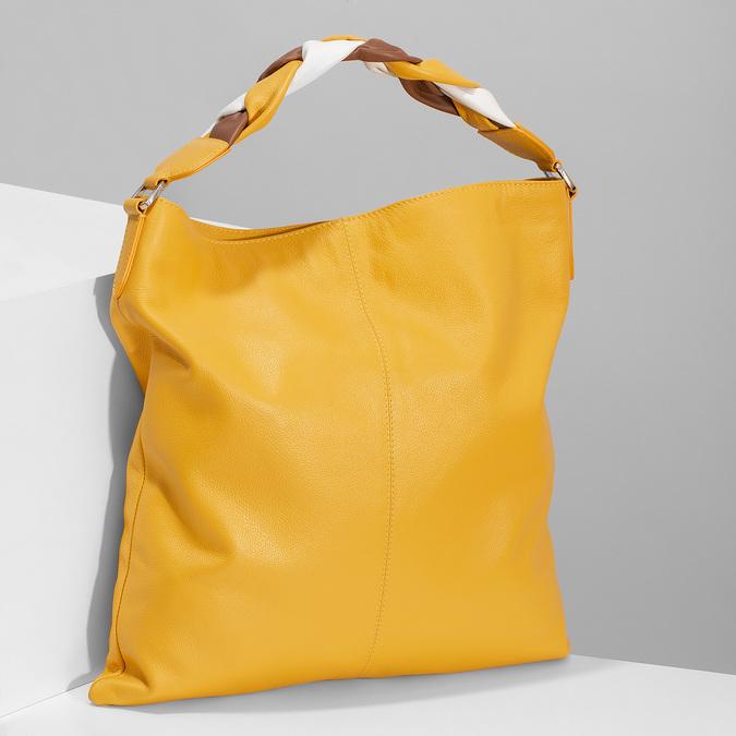 9648702 bata, żółty, 964-8702 - 17