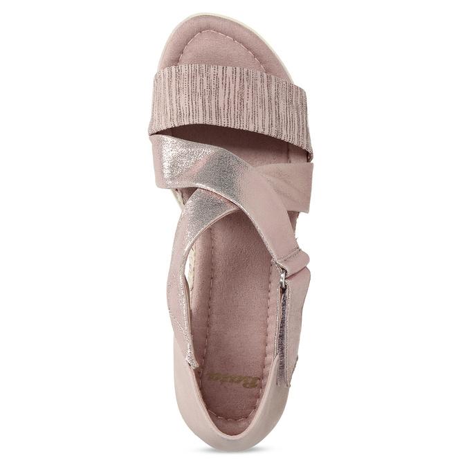 5615606 bata, różowy, 561-5606 - 17