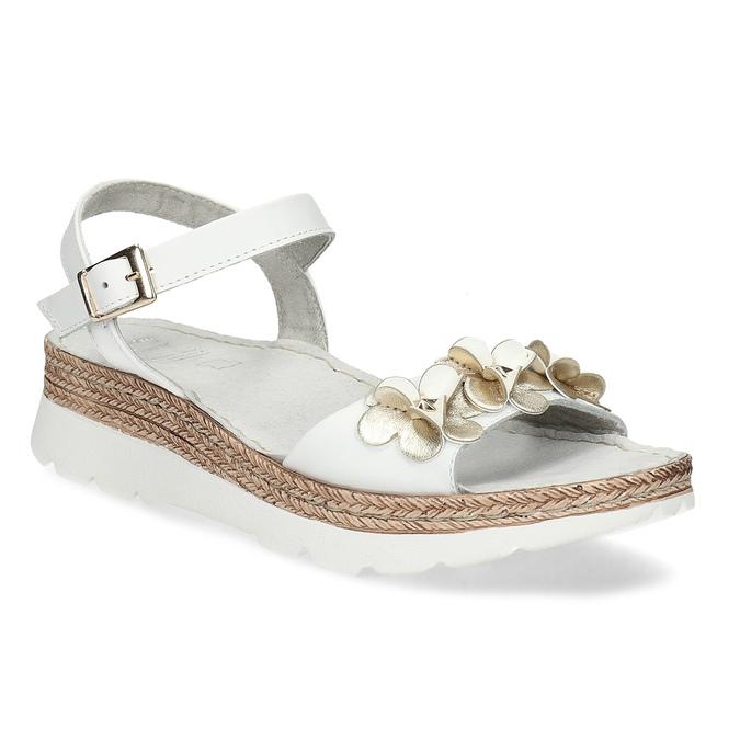 6641601 bata, biały, 664-1601 - 13