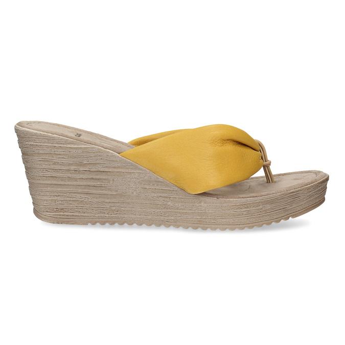 6668607 bata, żółty, 666-8607 - 19