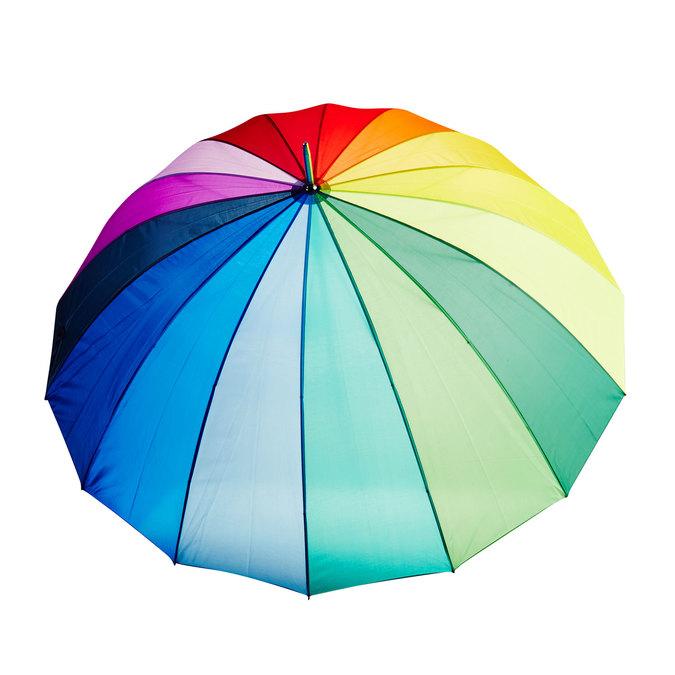 Kolorowy parasol doppler, multi color, 909-0186 - 26