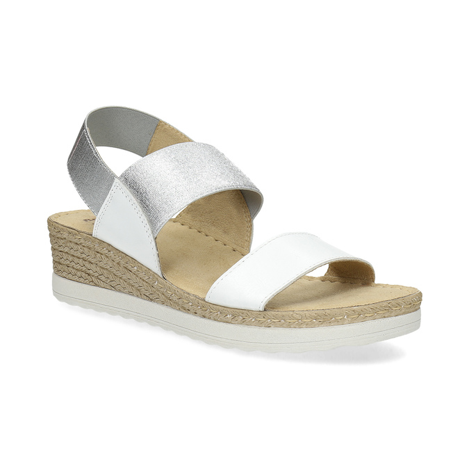 6641600 bata, biały, 664-1600 - 13