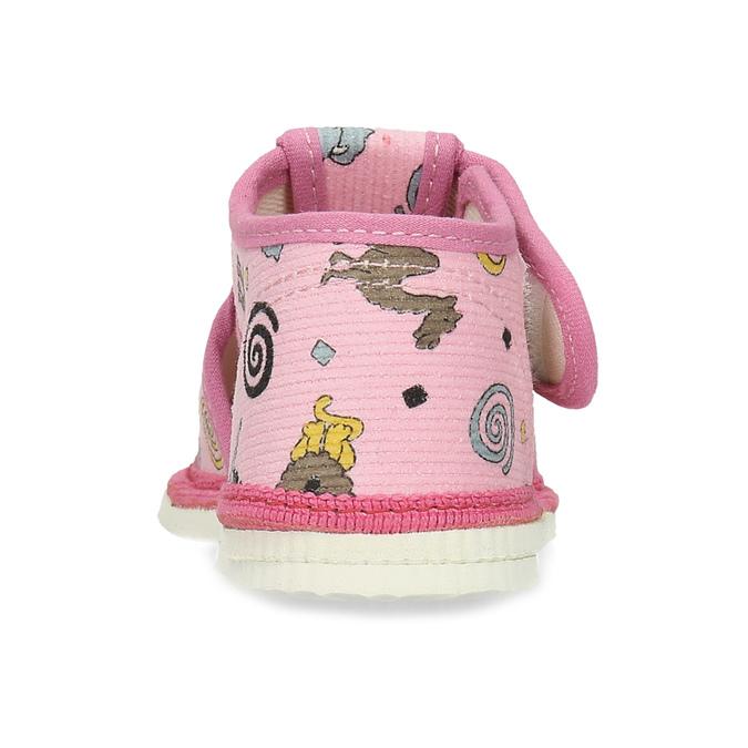 1795630 bata, różowy, 179-5630 - 15