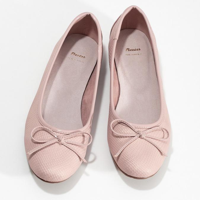 5218651 bata, różowy, 521-8651 - 16