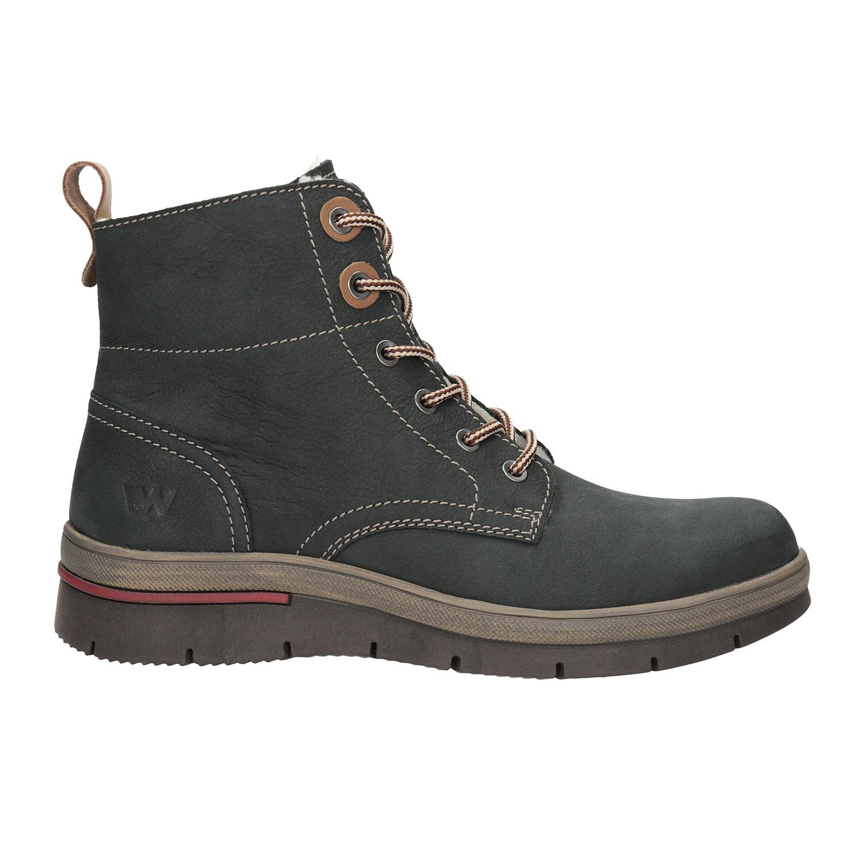 850c8113 ... Zimowe buty damskie ze skóry weinbrenner, szary, 596-2636 - 15 ...
